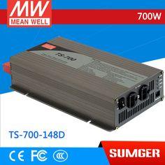 1MEAN WELL original TS-700-148D U.K Standard 110V meanwell TS-700 700W True Sine Wave DC-AC Power Inverter #Affiliate