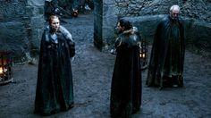 Sansa, Jon, and Davos