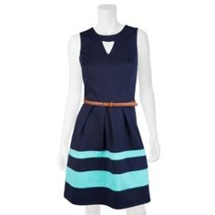 Juniors' IZ Byer California Ponte Fit. I got this dress on kohl's and its awesome!