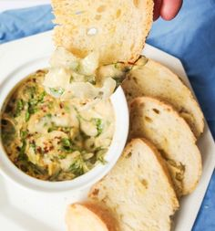 Hot Vegan Spinach Artichoke Dip   yupitsvegan.com. A healthy vegan spinach artichoke dip made with real food and no artificial substitutes. Plus, it could pass for the real thing!