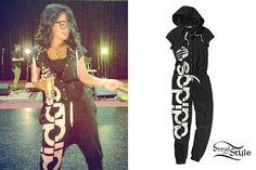 Becky G: Adidas Jumpsuit