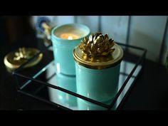 (1024) Красота из мусорного ведра!/ Идеи декора из стеклянных банок - YouTube Panna Cotta, Mason Jars, Pudding, Diy Projects, Tableware, Glass, Ethnic Recipes, Creative, Desserts
