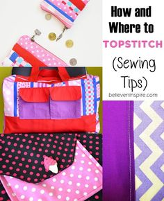 sewing tips | how to top-stitch | professional sewing tips | beginner sewing
