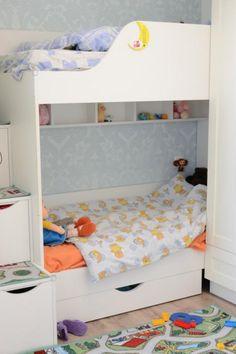 детская комната, двухъярусная кровать