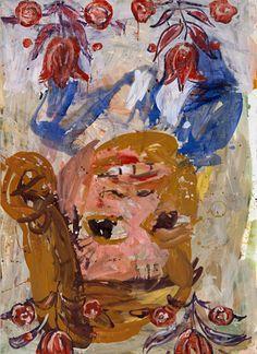 BASELITZ, Elke 1945, 1996, huile sur toile,
