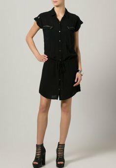 Kaporal - CARLEYE - Vestido camisero - negro