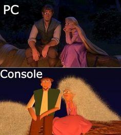 PC vs. Console - www.meme-lol.com http://amzn.to/2ldYdqf