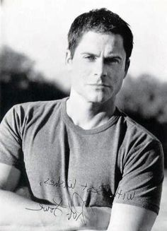some people get better looking with age... Rob Lowe is one of them