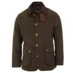 Barbour Cullen Wax Jacket - Olive Green
