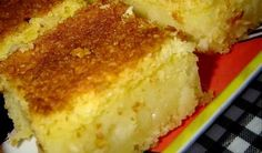 Receita de Bolo de Fubá Cremoso, confira! INGREDIENTES 3 xícaras (chá) de leite 4 ovos 3 colheres (sopa) de margarina 2 xícaras (chá) de açúcar