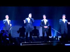 Il Divo - Come What May (Te Amare) -- Had never heard this song is spanish... Just as beautiful!