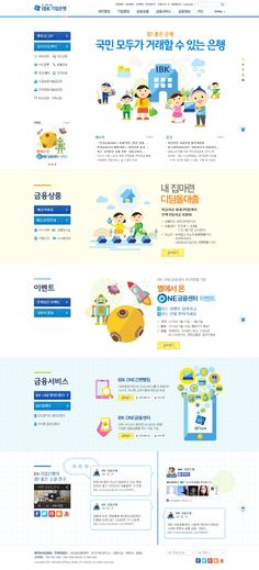DCafeIn Website - Industrial Bank of Korea