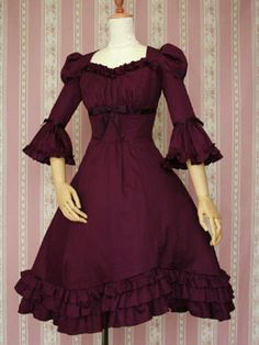 Victorian Maiden's Margery Ribbon OP. It looks like the lovechild of the Regency and Colonial eras, and oh, I love it!