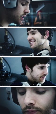 Colin Morgan -- making of Merlin the game