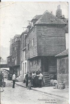 Fishermens' Huts Folkestone Kent