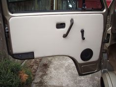 Custom Vanagon door panels