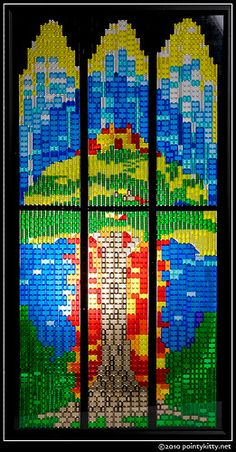 Did you know you could do this with Legos? #charitywindowcleaning www.charitywindowcleaning.com