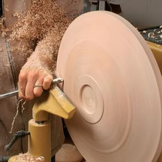 How to Turn a Platter on the Lathe - with my turning hero, Jimmy Clewes!