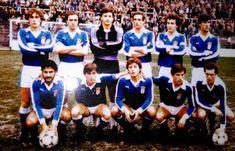 EQUIPOS DE FÚTBOL: REAL OVIEDO contra A. D. Almería 10/01/1982 Liga de 2ª División