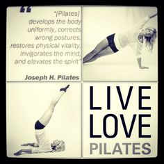 I have been in love with Pilates for years. It's gotten me through the worst of times - breast cancer and chemo - and it continues to keep me fit and strong.