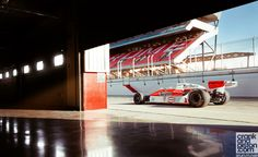 """mclaren-soul: """" Photoshoot of James Hunt's M26. For more pictures head to Crank and Piston's website. """""""
