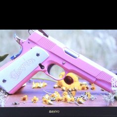Pink gun!! :) Thats for the police wife ;)