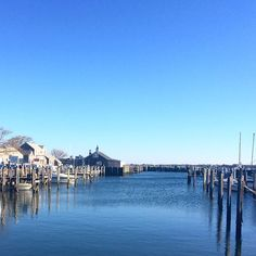 Nice smooth water on Nantucket Waterfront