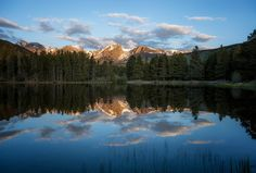 Morning on Sprague Lake (Explored)