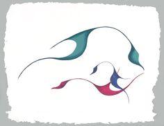 Bird Frolic by Gary Meeches kK Mini Toile, Canadian Art, Art World, Fashion Art, Chee Chee, Disney Characters, Fictional Characters, Birds, Artists