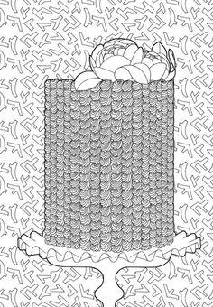 100 Cupcakes à colorier - http//anne-margot.com