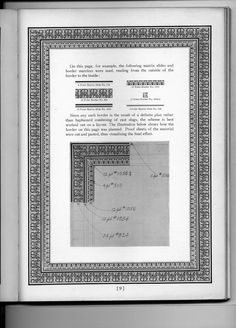 1929 - Linotype Decorative Material (in sections) by Mergenthaler Linotype Company