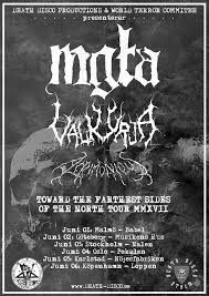 """Long Live The Loud 666: MGLA & VALKYRIA """"TOWARD THE FARTWEST BLUES OF THE ..."""