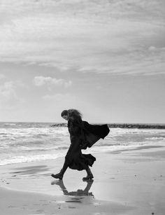 Peter Lindbergh Vogue Italia April 2016