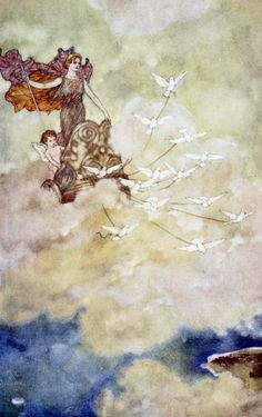 Edmund Dulac ~ Shakespeare's Comedy of the Tempest ~ 1915