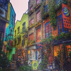 Neal's Yard, Covent Garden | 18 Places In London Every Instagram Lover Needs To Visit