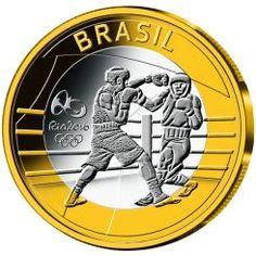 Ολυμπιακοί Αγώνες, Ρίο  2016, Σειρά 4, Διμεταλλική, 2016, Πυγμαχία