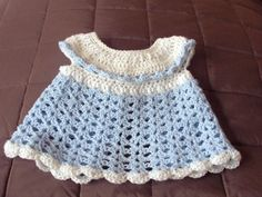 Baby Pinafore with Ruffles | Ravelry | Free Pattern