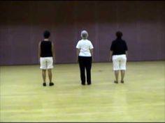 Linedance Lesson Rockin' The Wagon Wheel  Choreo. Jamie Marshall Music Darius Rucker - YouTube