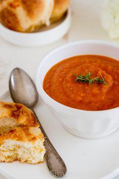 Tomaat wortel soep