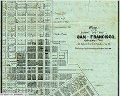Burnt District San Francisco, 1851