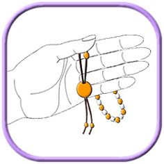 Do you want to know how to use worry beads as a stress relief aid.These easy to follow diagrams and instructions will help to give you some ideas.