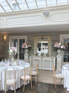 Wedding - Pillar Arrangement