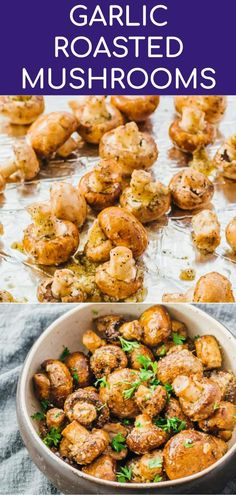 These awesome garlic roasted mushrooms with balsamic vinegar are baked in the ov. Keto Recipes These awesome garlic roasted mushrooms with balsamic vinegar are baked in the ov. Healthy Thanksgiving Recipes, Vegetarian Thanksgiving, Healthy Low Carb Recipes, Simple Vegetarian Recipes, Healthy Vegetarian Recipes, Healthy Recipes With Mushrooms, Recipes For Vegetarians, Easy Thanksgiving Side Dishes, Healthy Low Calorie Dinner
