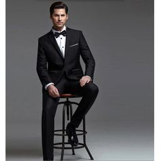 >> Click to Buy << The latest men suits fashion groom wedding suits tuxedos handsome  black lapel groomsman suits tuxedos prom suits jacket+pants #Affiliate