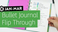 Bullet Journal Flip Through | Jan-Mar 2017 | Sea Lemon