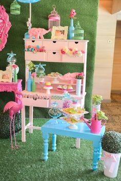 A Lilly Pulitzer Themed Birthday Party