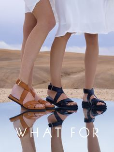 the WHAT FOR Franck sandals