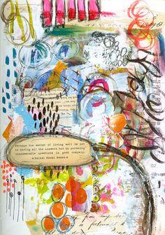 Art carnet, art journal pages, journal layout, art journals, scra Art Journal Pages, Art Journals, Journal Layout, Mixed Media Journal, Mixed Media Art, Mix Media, Zentangle, Art Doodle, Art Graphique
