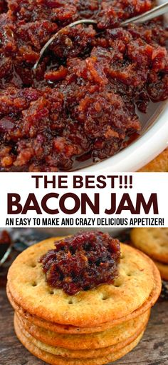 best recipes This Bacon Jam recipe is literally the best in the world. Regardless of what you use it for, topping burgers or simply adorning a cracker with it, your going to love it, ENJOY! Bacon Recipes, Jam Recipes, Canning Recipes, Bacon Jam Canning Recipe, Recipes Using Bacon Jam, Hot Pepper Bacon Jam Recipe, Maple Bacon Jam Recipe, Candied Bacon, Carrot Recipes