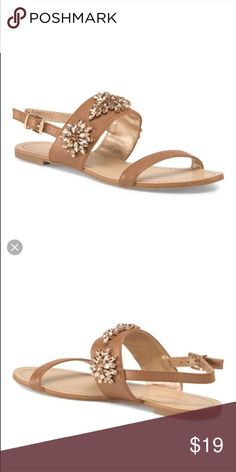 BRAND NEW  BCBGeneration Embellished Sandals BRAND NEW.  Never worn. Shoes Sandals